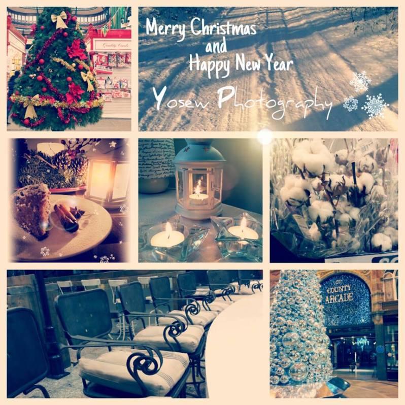 Merry Christmas festive photography