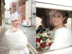 Bride- wedding photographer Leeds