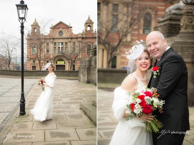 female wedding photographer Leeds