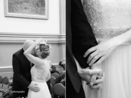 Leeds Town Hall wedding ceremony-photography