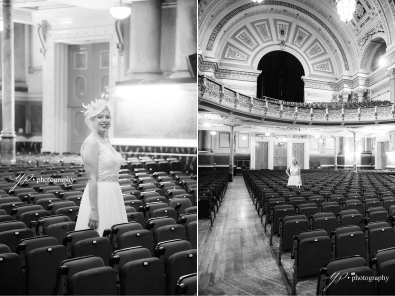 portrait of the bride- Leeds Town Hall