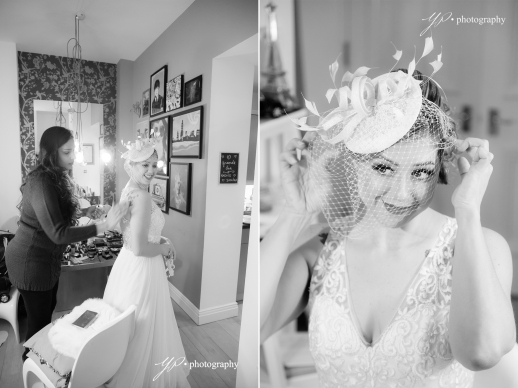 portrait of the bride-Leeds wedding-photographer