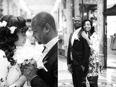 Leeds Victoria Quarter wedding session